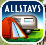 8. RV Park and Campground Locator- ALLSTAYS This will find campgrounds, Walmarts, truckstops, and other major store chains that allow overnight parking.